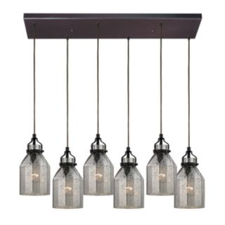 Elk Lighting Danica 6-Light Bronze Pendant