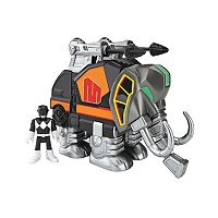 Fisher-Price Imaginext Power Rangers Black Ranger & Mastadon