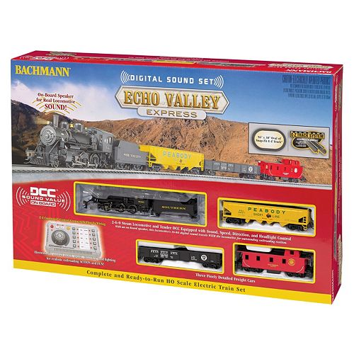 Bachmann Trains Echo Valley Express HO Scale Electric Train Set