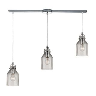 Elk Lighting Danica Glass 3-Light Pendant