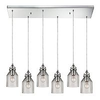 Elk Lighting Danica Glass 6-Light Pendant