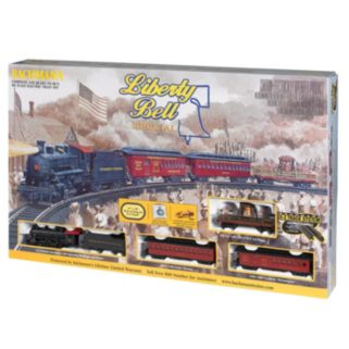 Bachmann Liberty Bell Special HO Scale Electric Train Set