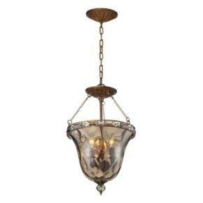 Elk Lighting Cheltham 3-Light Glass Pendant