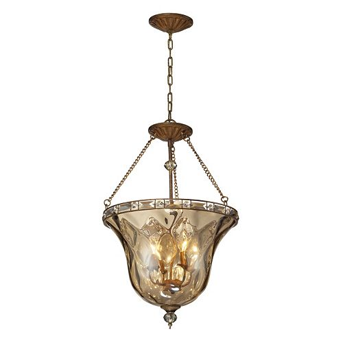Elk Lighting Cheltham 4-Light Glass Pendant