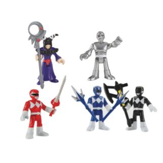 Fisher-Price Imaginext Power Ranger Figures Set