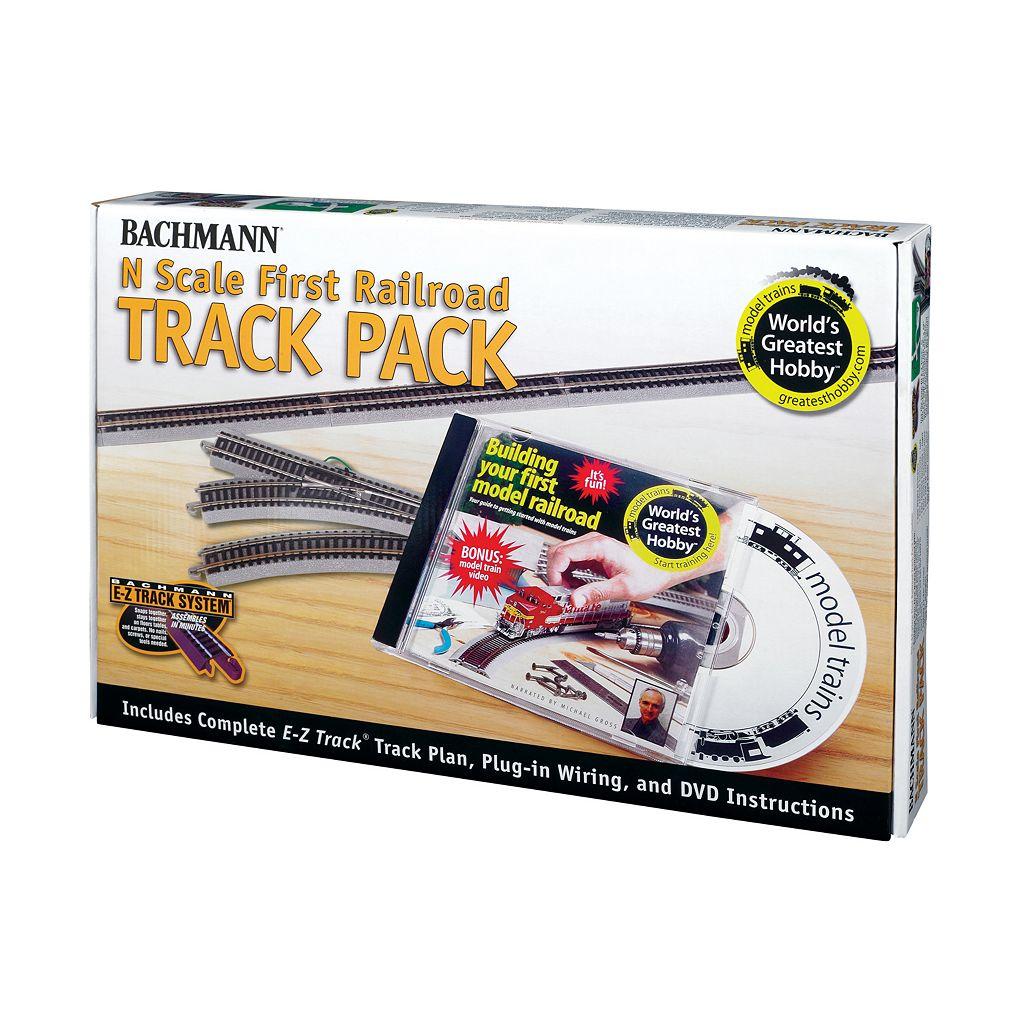 Bachmann N Scale First Railroad Track Pack