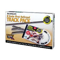 Bachmann N Scale First Railroad Track Pack