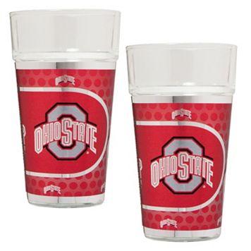 Ohio State Buckeyes 2-Piece Pint Glass Set