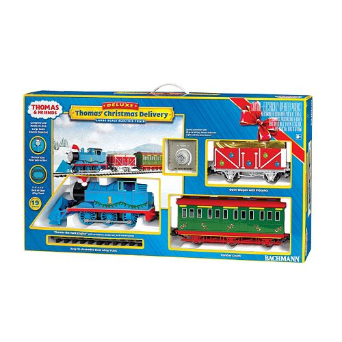 Thomas The Train Christmas.Thomas Friends Christmas Delivery G Scale Electric Train