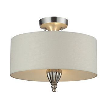 Elk Lighting Martique 3-Light Semi-Flush Mount Ceiling Lamp