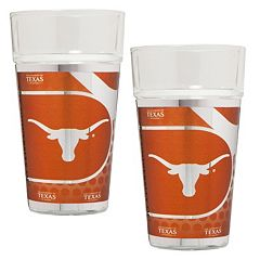 Texas Longhorns 2-Piece Pint Glass Set