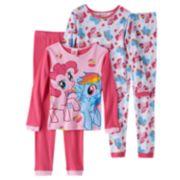My Little Pony Rainbow Dash & Pinkie Pie Pajama Set - Girls 4-10