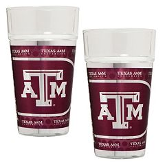 Texas A&M Aggies 2 pc Pint Glass Set