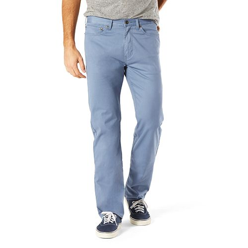 shop for official promo code promo codes Men's Dockers® Jean Cut D2 Straight-Fit Stretch Twill Pants