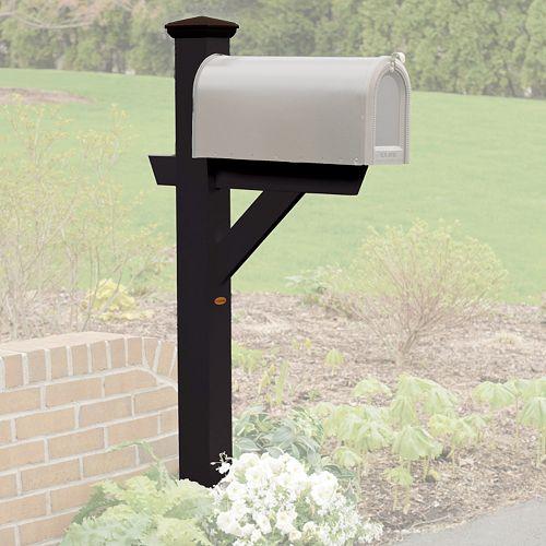 highwood Hazleton Mailbox Post