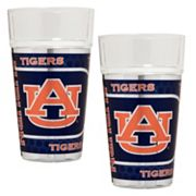 Auburn Tigers 2 pc Pint Glass Set