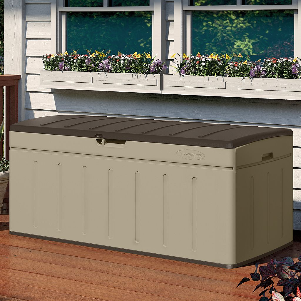 Suncast 99-Gallon Outdoor Deck Box