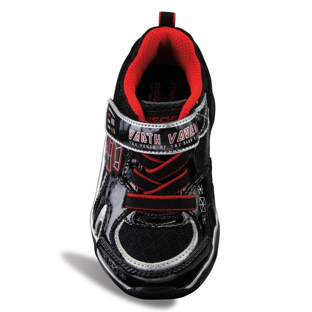Skechers Star Wars Dynamo Darth Vader Toddler Boys' Shoes