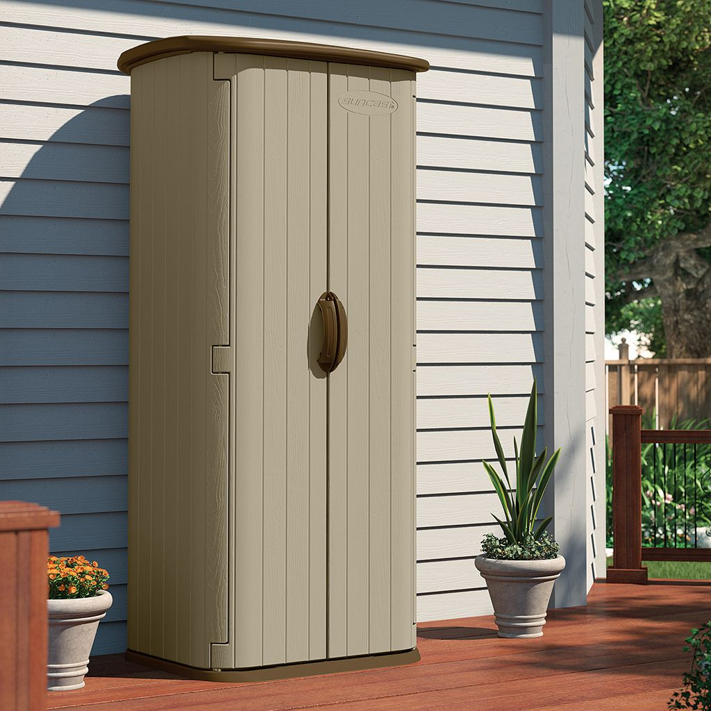 Suncast Vertical Outdoor Utility Shed
