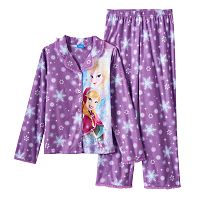 Disney's Frozen Anna & Elsa Snowflake Pajama Set - Girls 4-10