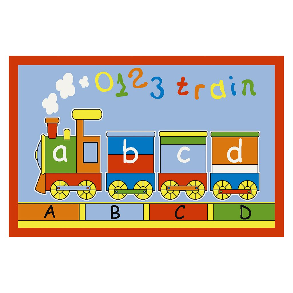 Concord Global Fun Time ABC Train Rug
