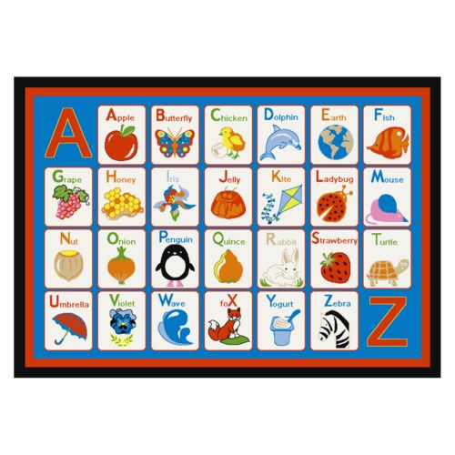Concord Global Fun Time Alphabet Rug