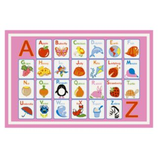 Concord Global Fun Time Alphabet Rug