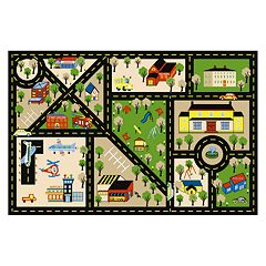 Concord Global Fun Time City Center Rug