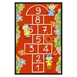 Concord Global Fun Time Hop Scotch Rug