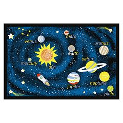 Concord Global Fun Time Outer Space Rug