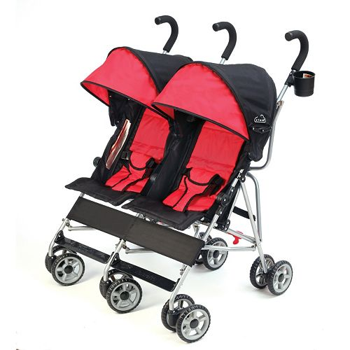Kolcraft Cloud Umbrella Double Stroller
