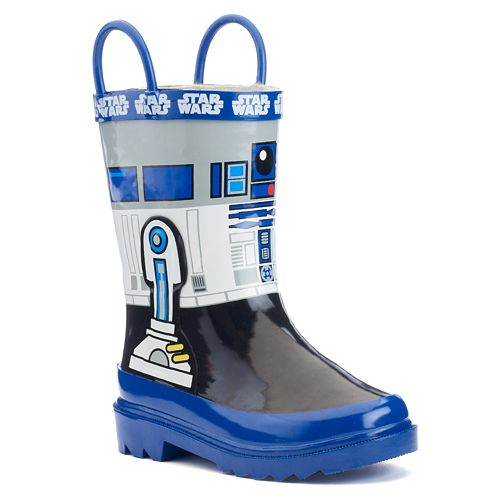 Star Wars R2-D2 Toddler Boys' Waterproof Rain Boots