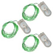 LumaBase Luminas 3 pkWaterproof Battery Operated Mini LED String Lights