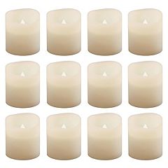 LumaBase 12 pc LED Flameless Votive Candle Set