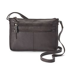 R&R Leather East West Crossbody Bag