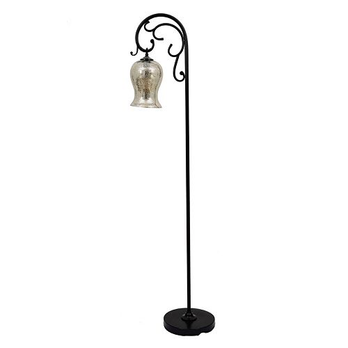 Decor Therapy 64-in. Textured Mercury Glass Floor Lamp