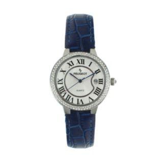 Peugeot Women's Leather Watch