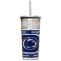Penn State Nittany Lions Bling Stainless Steel Straw Tumbler