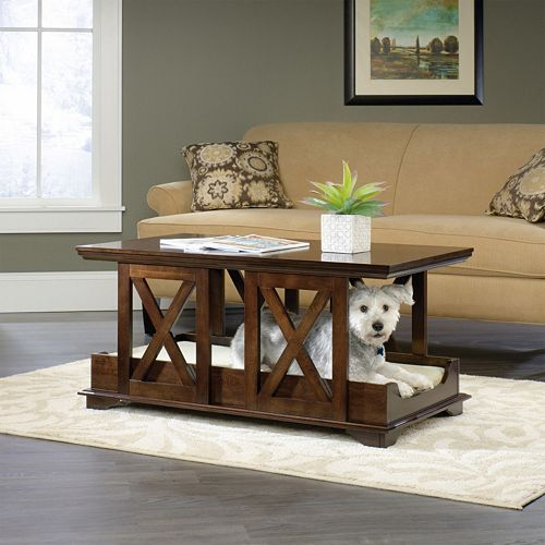 Sauder Coffee Table Dog Bed