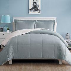 Vcny Micromink Sherpa Reversible Comforter Set
