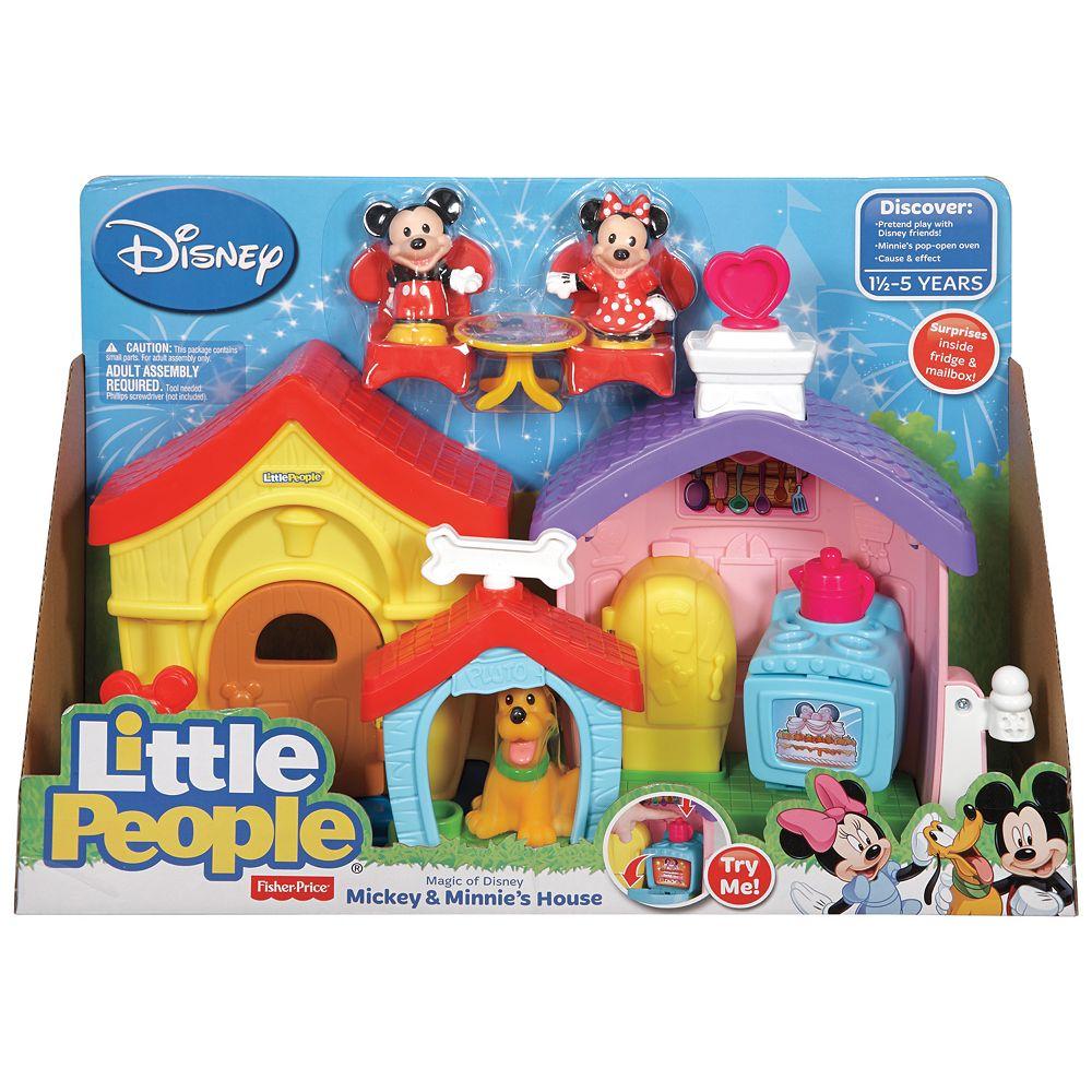 Disneys Mickey Mouse Little People Mickey Minnies House