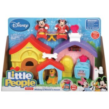 Disney's Mickey Mouse Little People Mickey & Minnie's House Playset by Fisher-Price