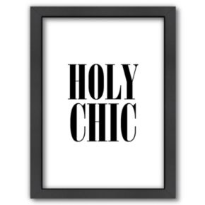 "Americanflat ""Holy Chic"" Framed Wall Art"
