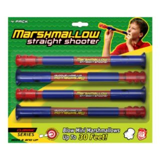 Marshmallow 4-pk. Classic Straight Shooters by Marshmallow Fun Company