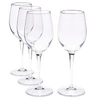 Food Network™ Signature 4-pc. Crystal White Wine Glass Set