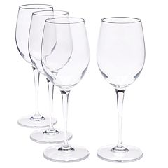 Food Network™ Signature 4 pc Crystal White Wine Glass Set