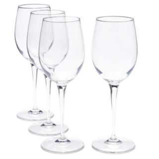 Food Network? Signature 4-pc. Crystal White Wine Glass Set