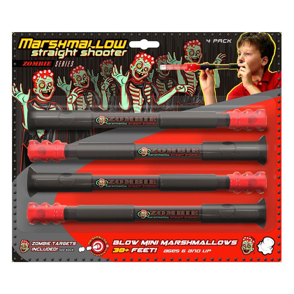 Marshmallow 4-pk. Zombie Straight Shooters by Marshmallow Fun Company