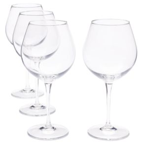 Food Network? Signature 4-pc. Crystal Balloon Red Wine Glass Set