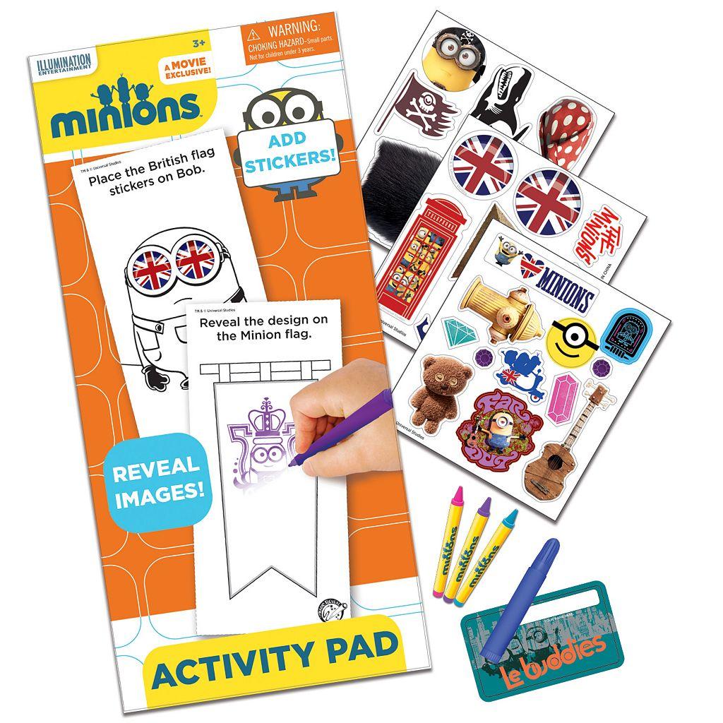 Minions Sticker Activity Fun Set